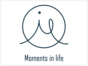 Logo | Moments in life