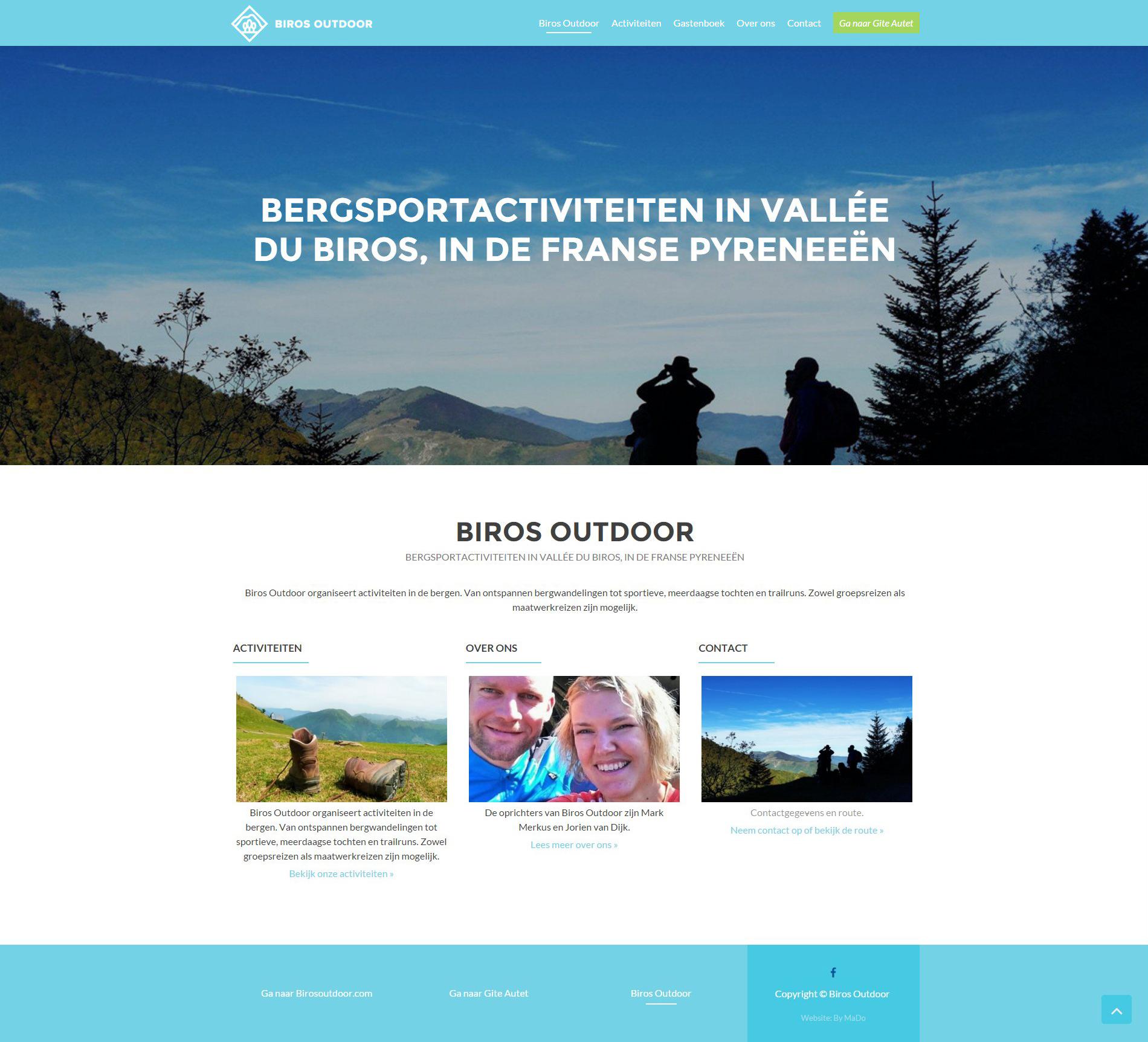 Website | Biros Outdoor | Home