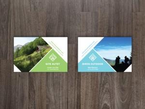 Visitekaartje | Biros Outdoor en Gite Autet