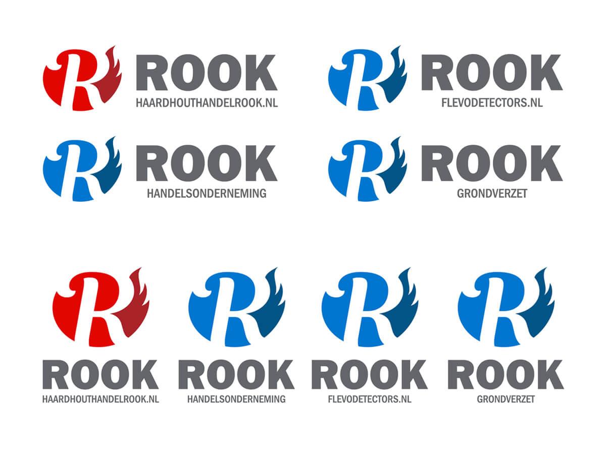 Rook - Alle logo's